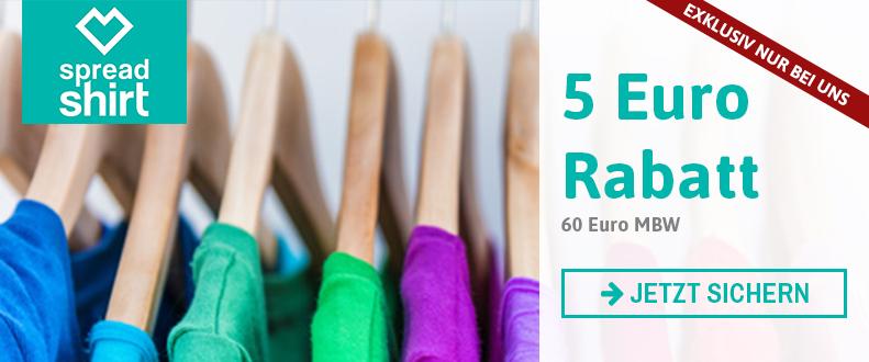 5 EUR Rabatt exklusiv